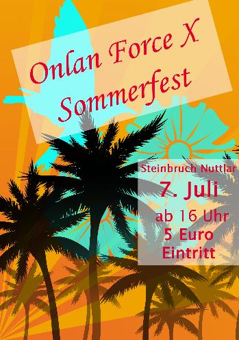 Sommerfest Einladung